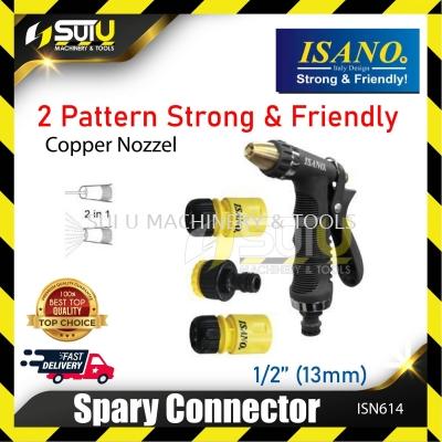 """ISANO ISN614 2 Pattern Spray Nozzle 1/2"""" 13mm"""