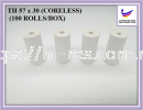 Thermal Paper 57 x 30 Coreless Thermal Receipt Paper