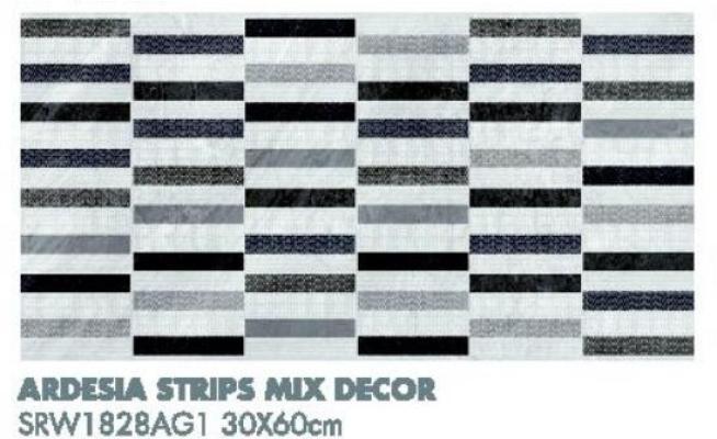 Ardesia Strips Mix Decor SRW1828AG1