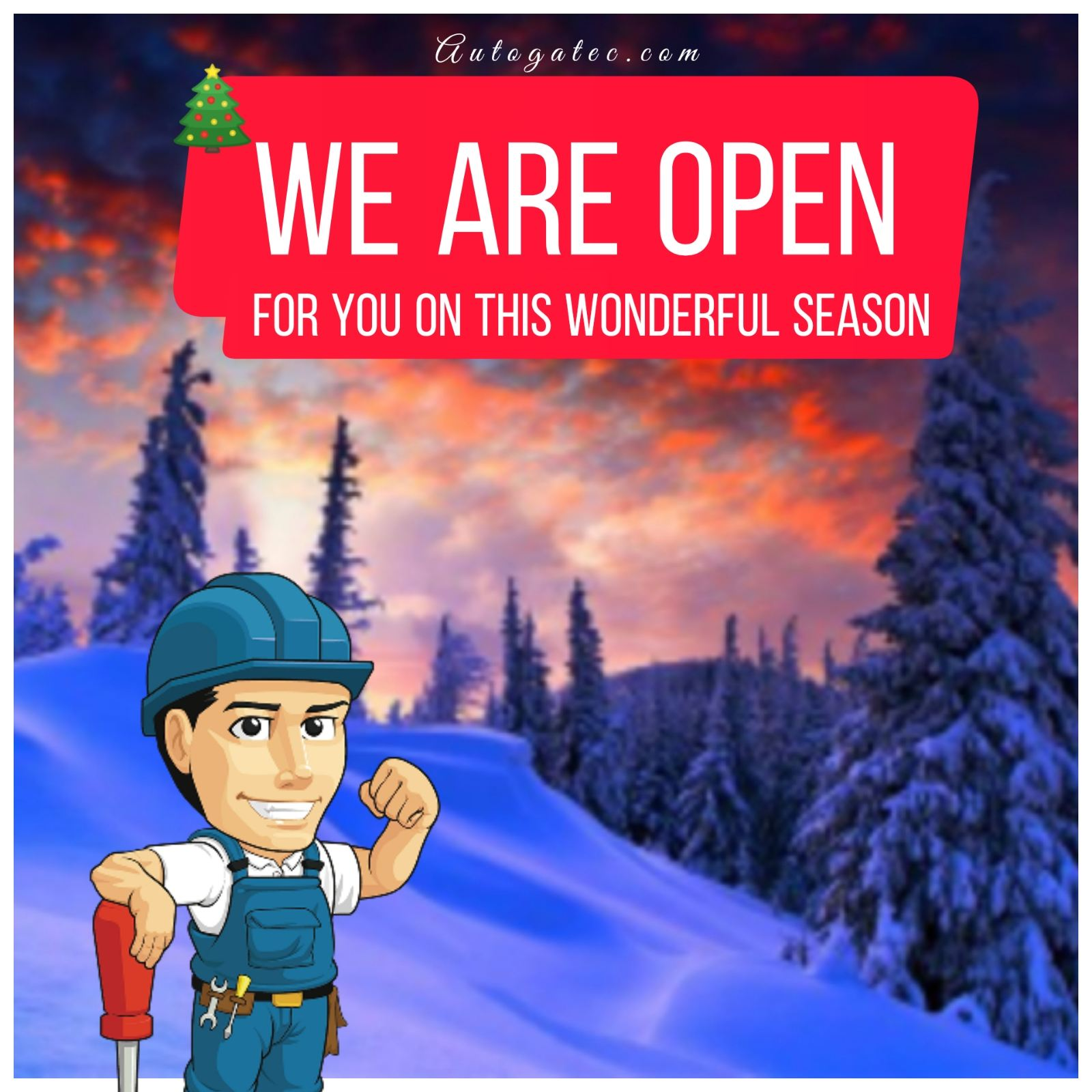 We are Open on this Season