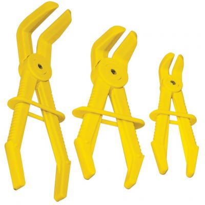 SP TOOLS LINE CLAMP SET - 90�� OFFSET - 3PC MULTI SIZE SP70714