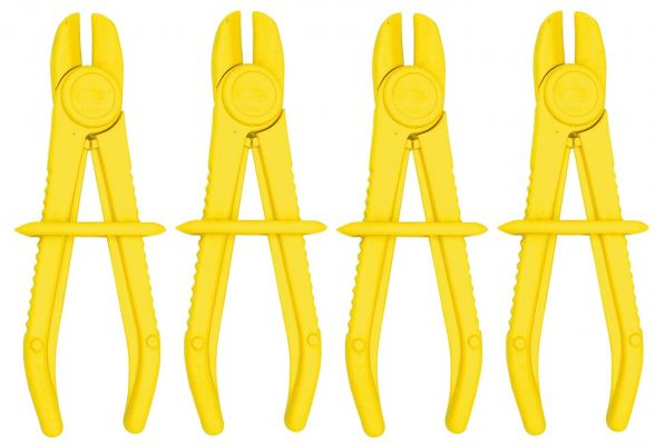 SP TOOLS LINE CLAMP SET - 4PC SMALL SP70718