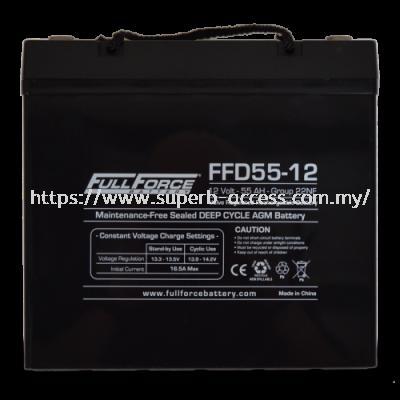 FFD55-12 Dual Purpose AGM Battery