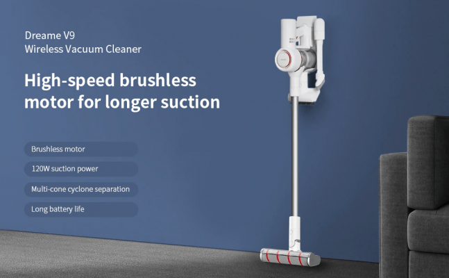 Xiaomi Dreame V9 Handheld Cordless Vacuum Cleaner (Global Plug)