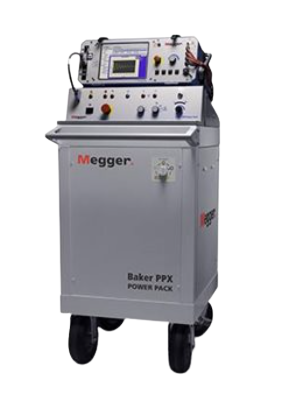 MEGGER Baker PPX Power Packs High Voltage Motor Tester