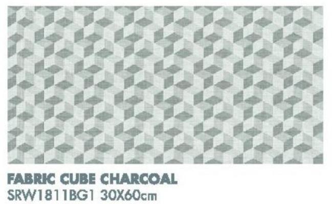 Fabric Cube Charcoal SRW1811BG1