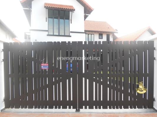 MSG 04-Mild Steel Swing Gate