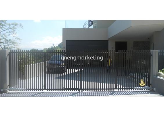 MSG 05- Mild Steel Folding Gate
