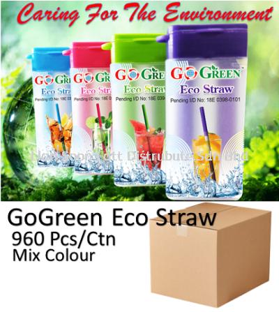 BPA Free ECO Straw(960pcs)