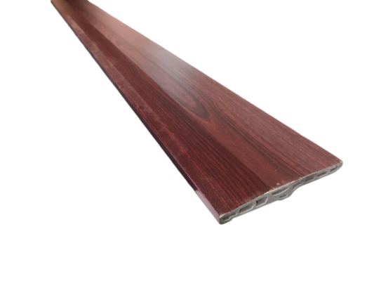 100mm PVC Skirting - Dark Cherry ( PSK100-1010 )