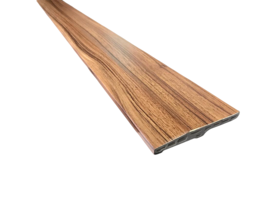 100mm PVC Skirting - Dark Maple ( PSK100-1023)