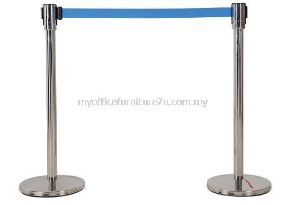 QP33B Retractable Q Up Stand (Blue)