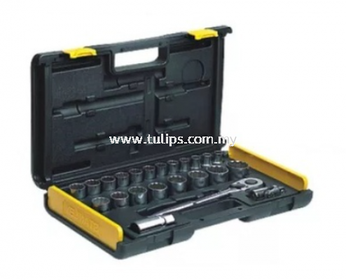 "27-Piece 1/2"" Drive Socket Set"