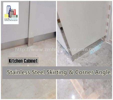 Stainless Steel Skirting Corner Angle.
