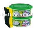 400gx2 Dish Paste Lime & Lemon (Free Sponge) Cleaning Product Home Care