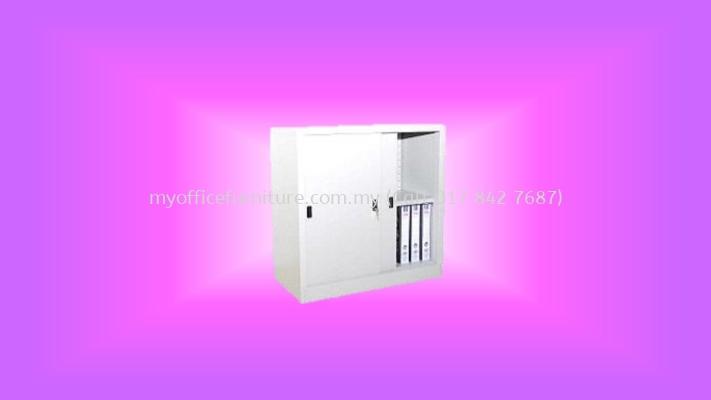 MY-S111 HALF HEIGHT CUPBOARD WITH STEEL SLIDING DOOR (RM 413.00/UNIT)