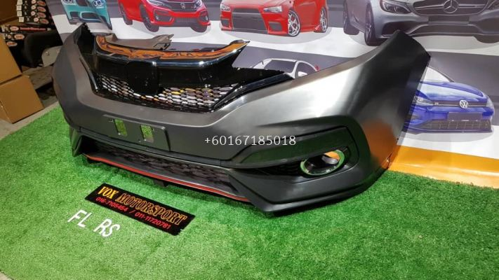jazz fl rs front bumper pp fit for honda jazz gk replace upgrade performance look brand new set