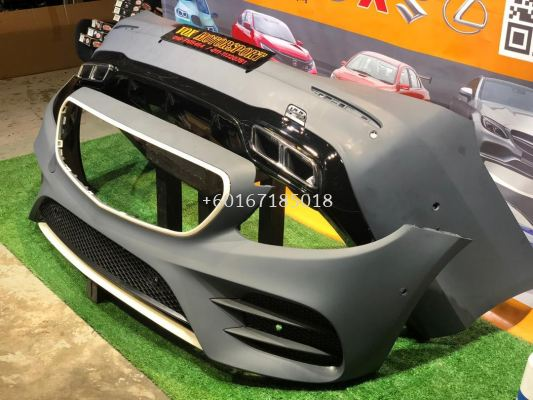 w213 amg c63 bodykit pp bumper fit for mercedes benz w213 e class replace upgrade performance look pp material brand new