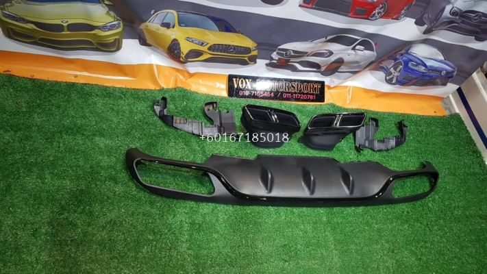 e class amg rear diffuser fit for mercedes benz w213 e class exclusive replace upgrade performance look brand new