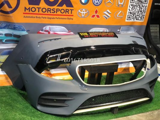w213 amg bodykit pp bumper fit for mercedes benz w213 e class replace upgrade performance look pp material brand new