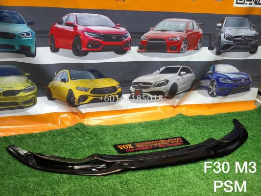 f30 psm m3 front lipdiffuser fit for bmw f30 m3 pp bodykit replace upgrade performance look gloss black material brand new set