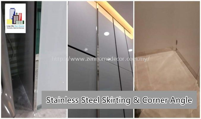 Stainless Steel Skirting Corner Angle...