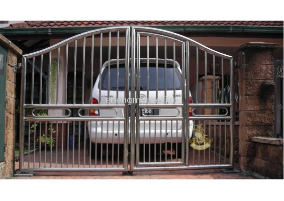 SSG 21-Stainless Steel Swing Gate