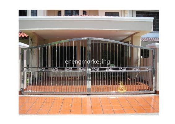 SSG 04- Stainless Steel Swing Gate