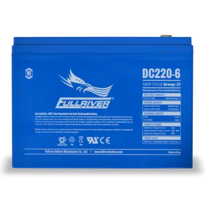 DC220-6 Deep-Cycle AGM Battery