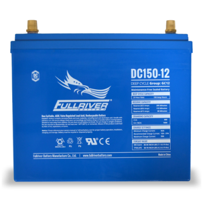DC150-12 Deep-Cycle AGM Battery
