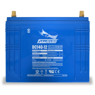 DC140-12 Deep-Cycle AGM Battery