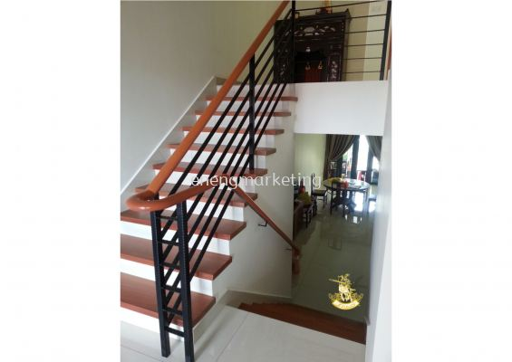 WIST 07- Wrought Iron Staircase Railing