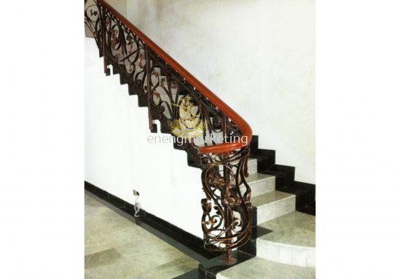 WIST 13- Wrought Iron Staircase Railing