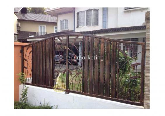 WIF 6- Wrought Iron Fencing