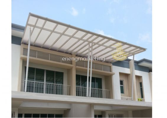 RF 23- Mild Steel With Polycarbonate Roof