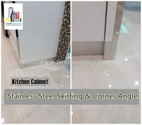 Stainless Steel Skirting Corner Angle..