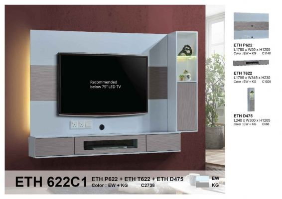 Eco living home Hanging TV cabinet