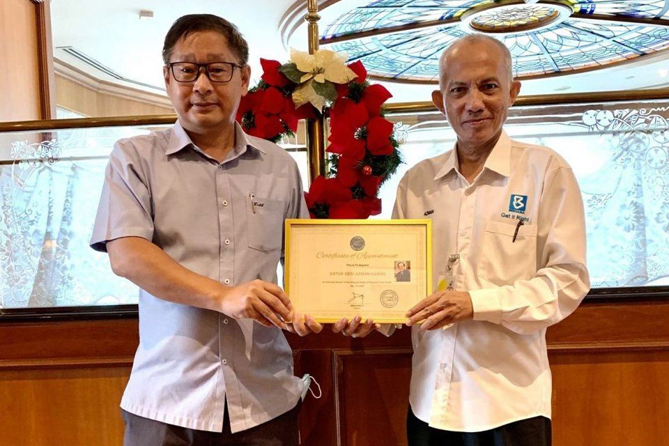 Malaysia-China Insight introduces its new Honorary Chairman , Datuk Seri Azman Ujang 本会活动 PUCM Activities