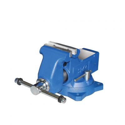 SP TOOLS BENCH VICE - INDUSTRIAL SWIVEL BASE - 115MM (4-1/2��) SPBV115