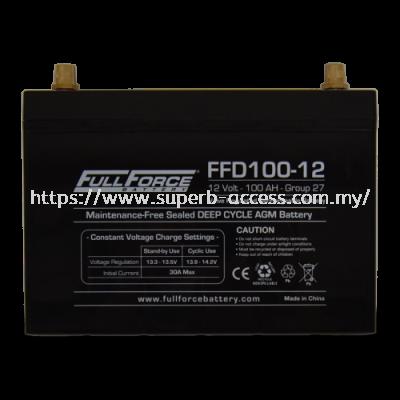 FFD100-12 Dual Purpose AGM Battery