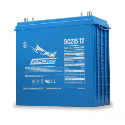 DC215-12 Deep-Cycle AGM Battery