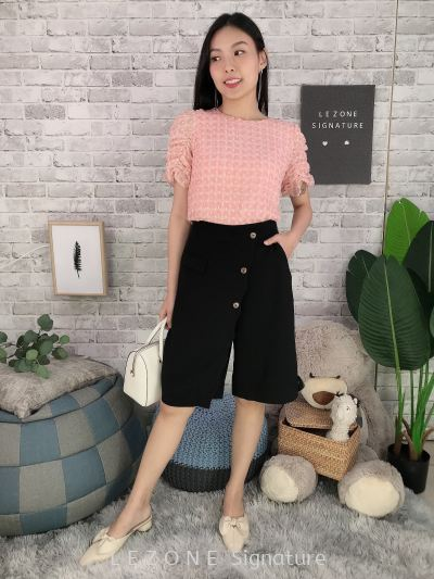 626881 Puff Sleeved Top