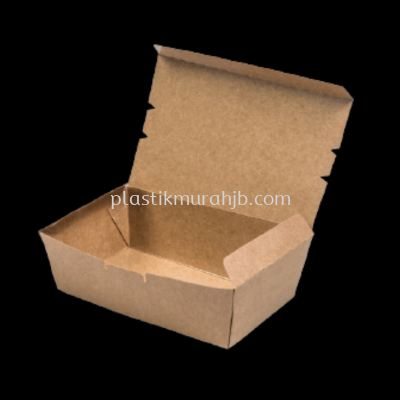 Kraft Lunch Box - L (Brown)