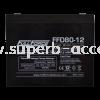 FFD80-12 Dual Purpose AGM Battery Material Handling Application Fullriver AGM Battery