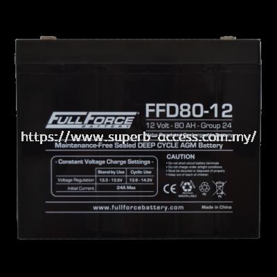 FFD80-12 Dual Purpose AGM Battery