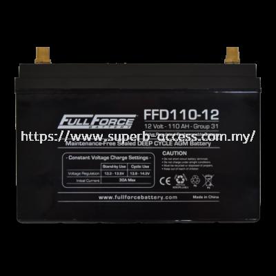 FFD110-12 Dual Purpose AGM Battery