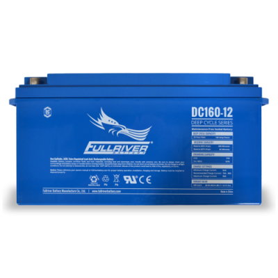 DC160-12 Deep-Cycle AGM Battery