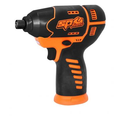 "SP TOOLS 12V 1/4"" HEX MINI IMPACT DRIVER - SKIN ONLY SP81141BU"