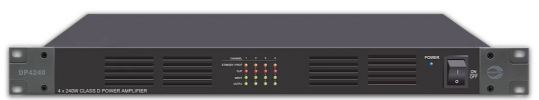 DP2240. Amperes 240W 100V line 2 ch Class D power amplifier. #AIASIA Connect AMPLIFIER AMPERES PA / SOUND SYSTEM
