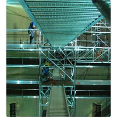 Boiler System 4 - Scaffolding